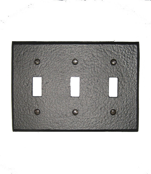 Simple 3 Switch Plate