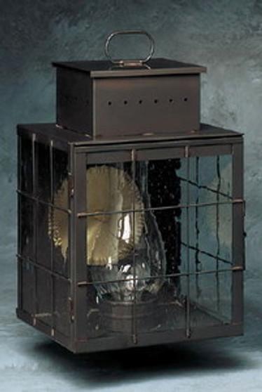 Pierced Square Wall Lantern