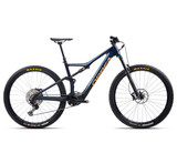 Orbea Rise M20 2021 - Coal Blue / Red Gold