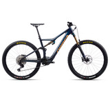 Orbea Rise M10 2021 - Coal Blue / Red Gold