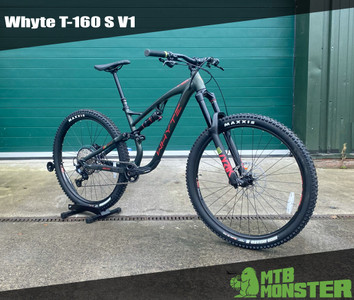 Picked up by the customer today and going straight to Revolution Bike Park! - The Whyte T-160 S V1