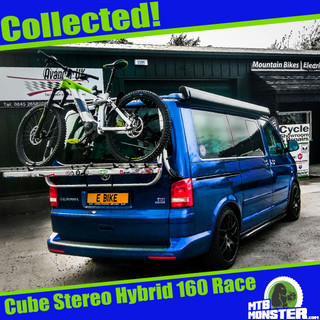Cube Stereo 160 Hybrid Race - Just Collected