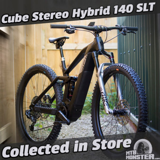 Cube Stereo Hybrid 140 HPC SLT - Collected in Store