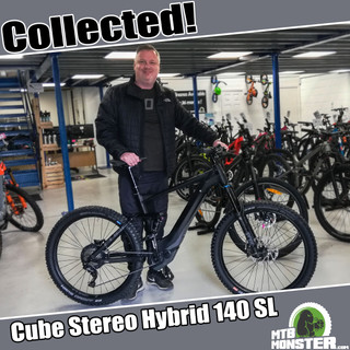 0cb9120296994a Cube Stereo Hybrid 140 SL - Collected in Store! - MTB Monster