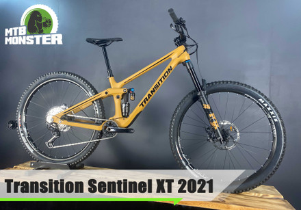 Transition Sentinel XT 2021 Enduro mountain bike (key features)