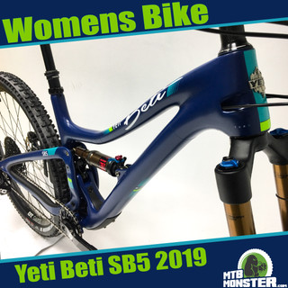 Yeti SB5 Beti Womens Specific MTB