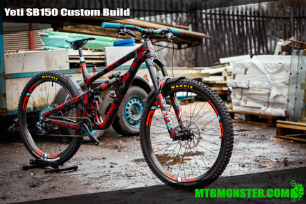 ​Yeti SB150 custom build with custom paint. Left us just after Christmas!