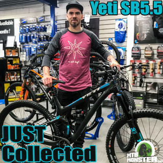 Yeti SB5.5 Collected - Cafe Adventure (Hope Valley) MTB Monster