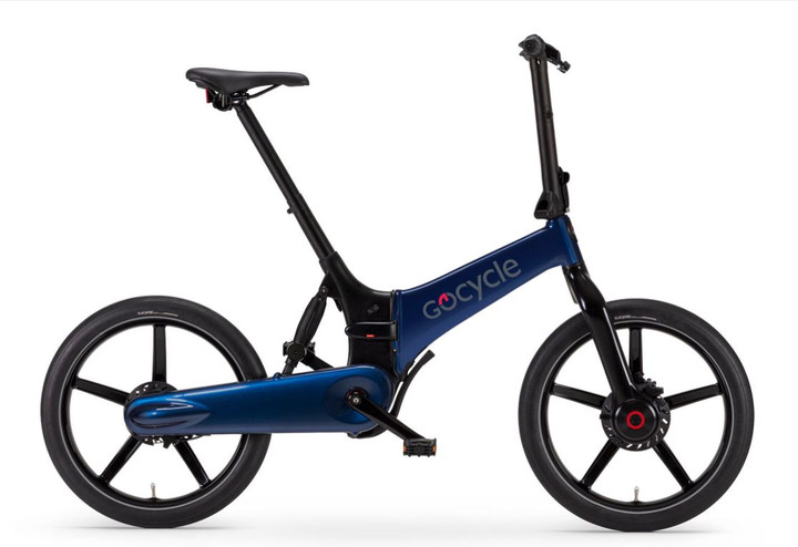 GoCycle G4 (Electric Blue)