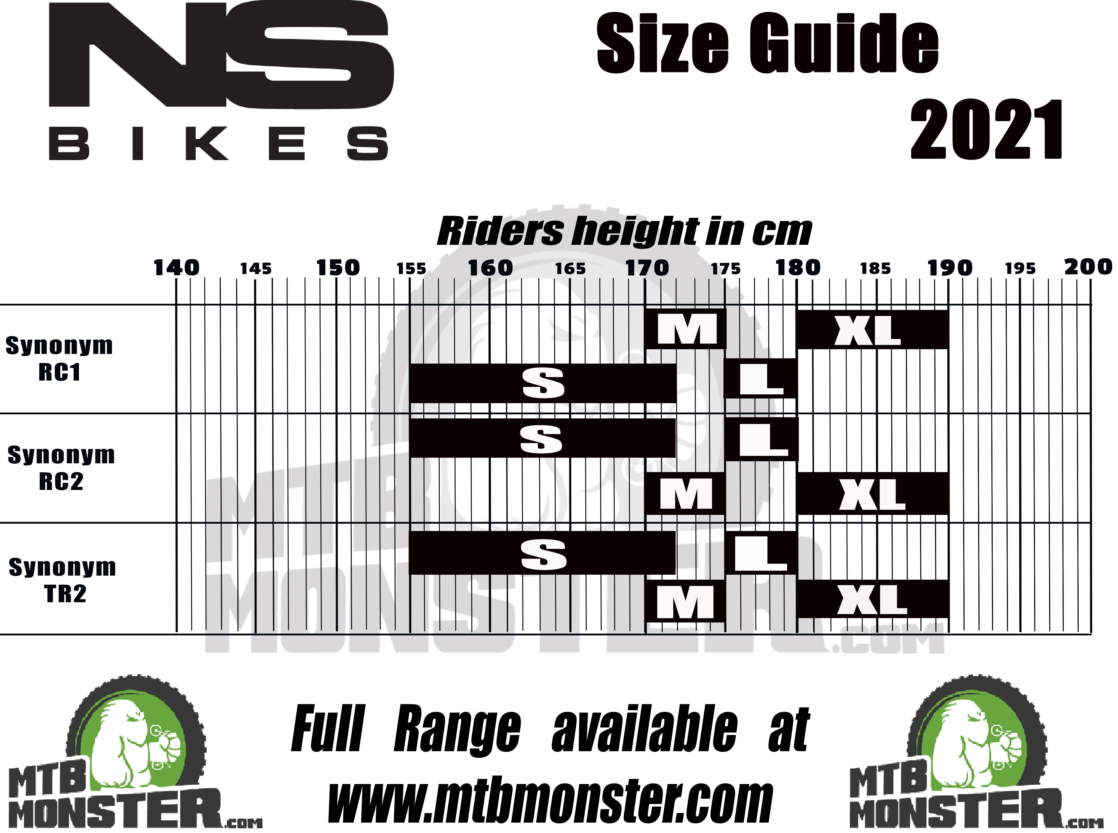 ns-bike-size-chart-and-size-guide 2021