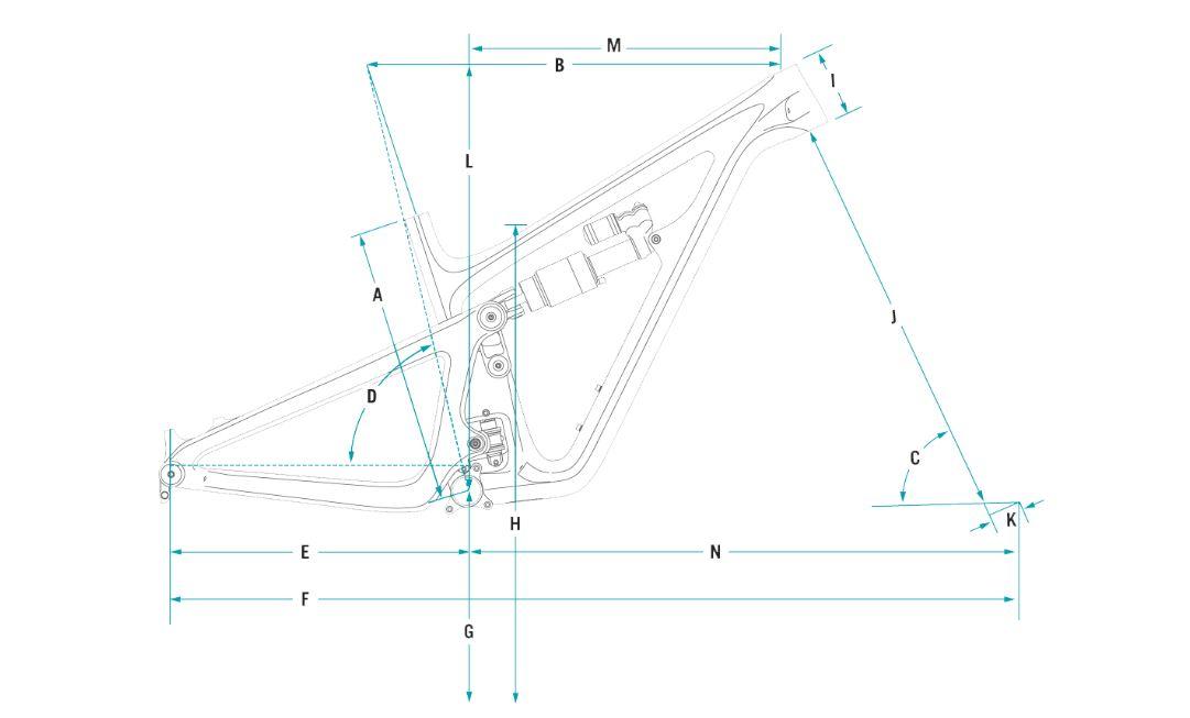 Yeti SB165 Geometry