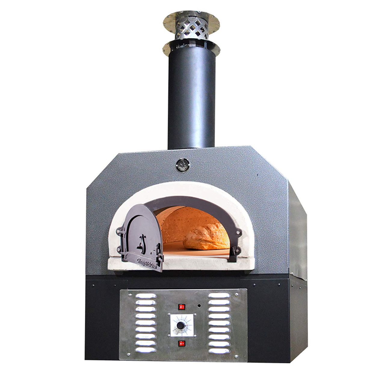 Chicago Brick Oven Propane Gas Wood Burning Outdoor Pizza Oven