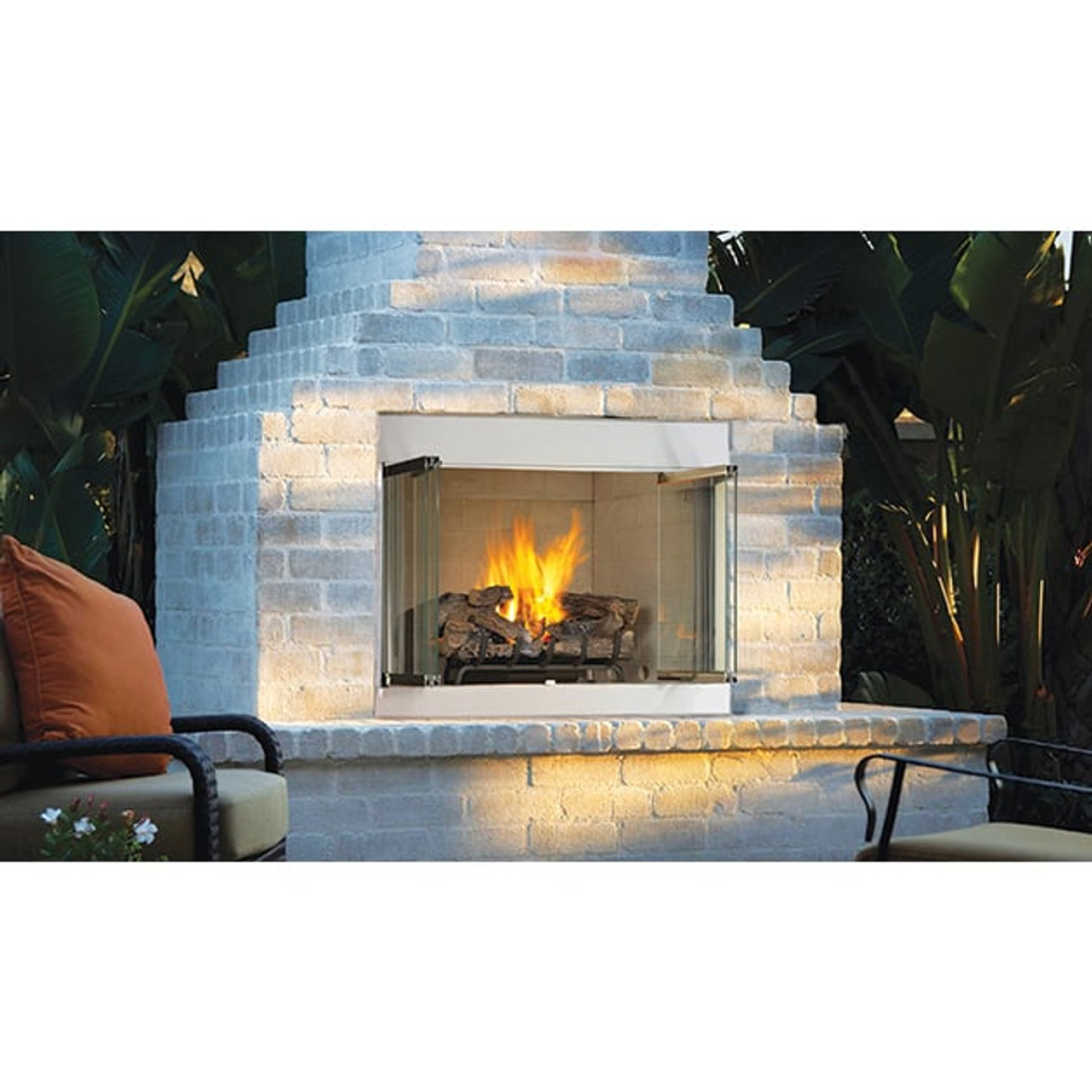 42 Odyssey Outdoor Vent Free Gas Fireplace Astria Ams Fireplace