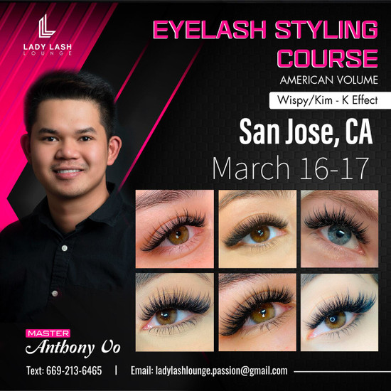 2-DAY ADVANCED COURSE (VOLUME & KIM-K EFFECT STYLES)