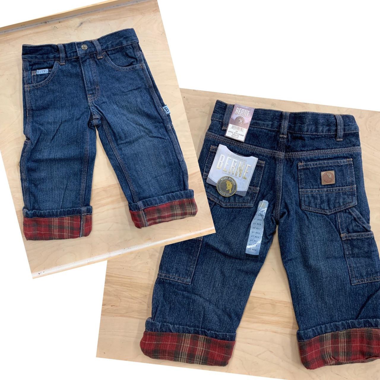 5fecae59 Berne Denim Flannel Lined Carpenter Jeans - Shelton's Clothing & Outdoors
