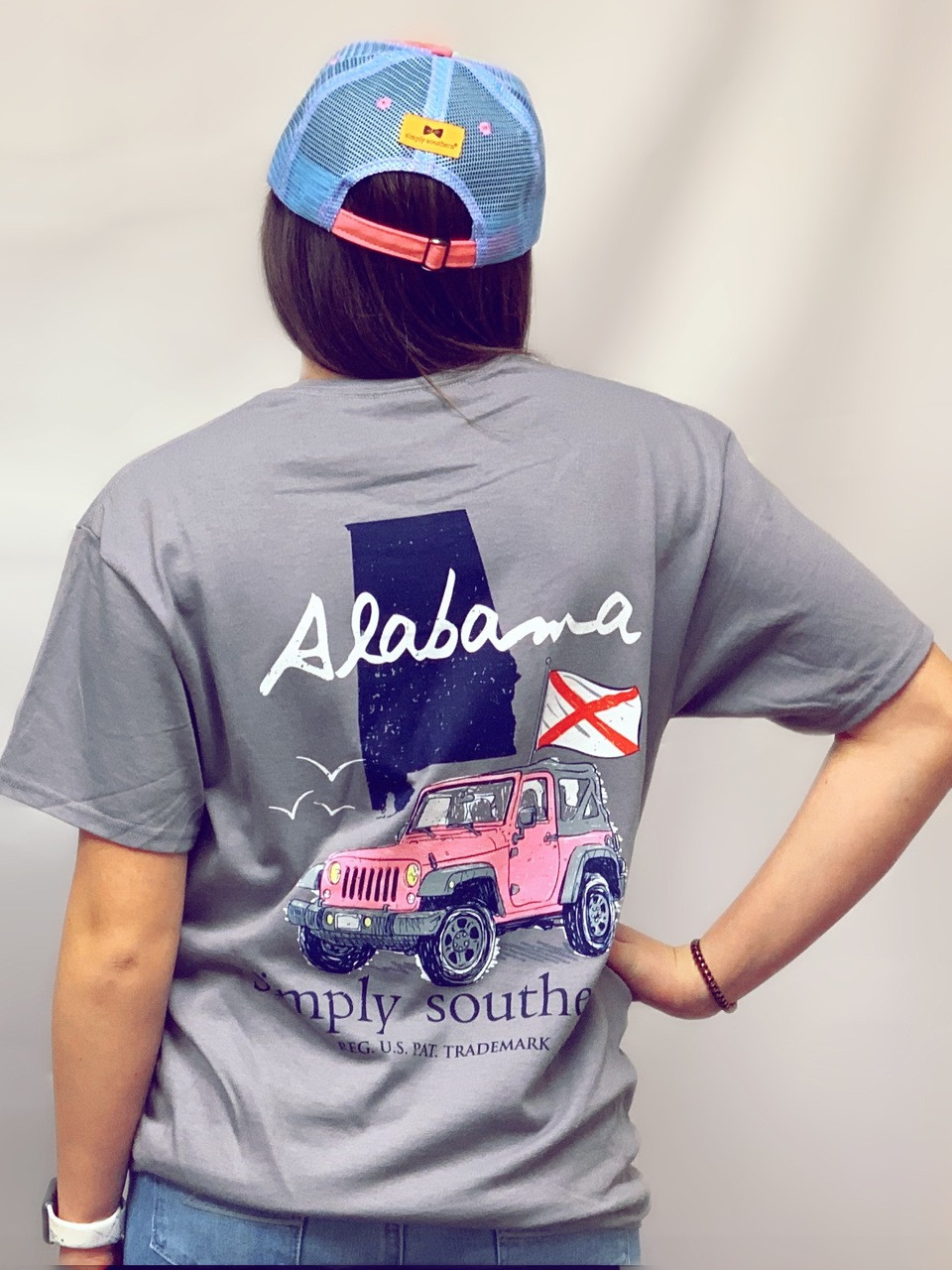 b2788b0cd9e Simply Southern Alabama Flag   Jeep Tee - Shelton s Clothing   Outdoors