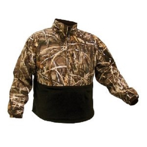 COLEMAN WATERFOWL FLEECE LINED PULLOVER WEATHERTEC KANGAROO POCKET MAX-4