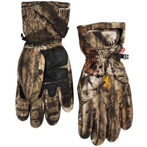 Browning XPO Big Game Gloves MOSSY OAK Waterproof, PRIMALOFT Insulated