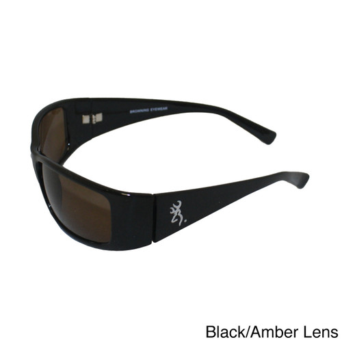 Browning Boss Black TR90 Frame Amber CR39 Polarized Lens
