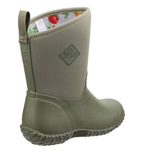 Muck Women's Muckster II RHS Boots Moss/Tomato WM2-3TOM CLEARANCE !!!