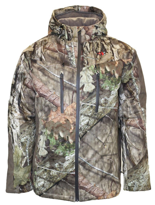 10X Men's Silent Quest Insulated Parka with Scentrex Mossy Oak Breakup Country