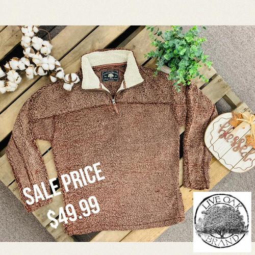 Live Oak Brand Fleece Pullover
