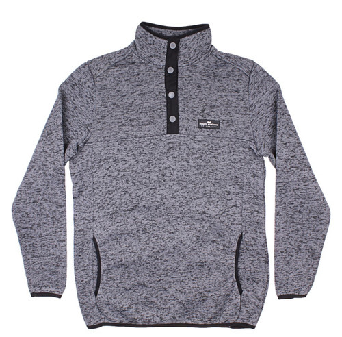 Simply Southern Knit Pullover Steel