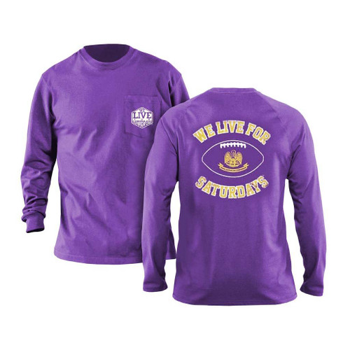 Baton Rouge State Football Long Sleeve Tee