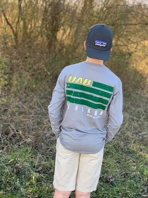 UAB Flag Long Sleeve Tee by We Live for Saturdays
