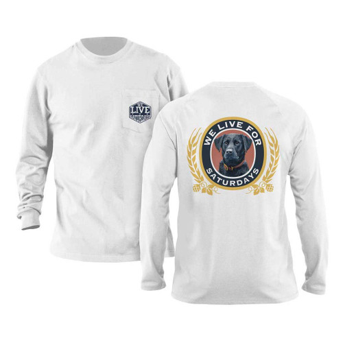 Brew Dog Long Sleeve Tee by We Live for Saturdays