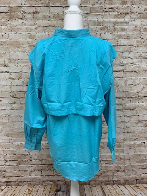 Branson Bay Fishing Shirt - Turquoise