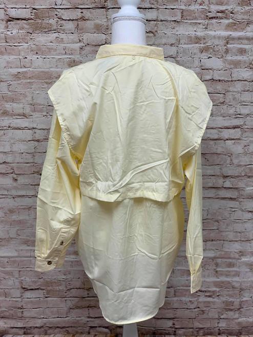 Branson Bay Fishing Shirt - Light Yellow