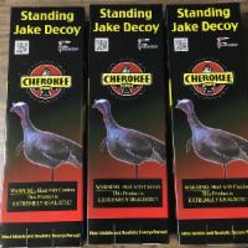(3) Cherokee Sports Featherlite Standing Jake Inflatable Turkey Decoy