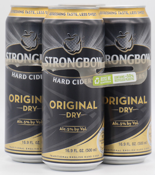 STRONGBOW ORIGINAL DRY CIDER 4pk 16oz. Cans