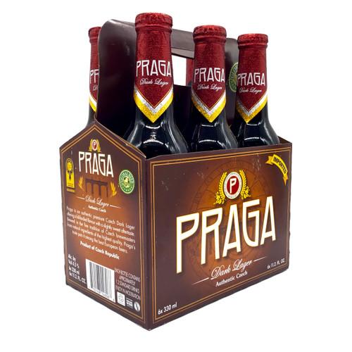 PRAGA DARK LAGER 6pk 12oz. Bottles