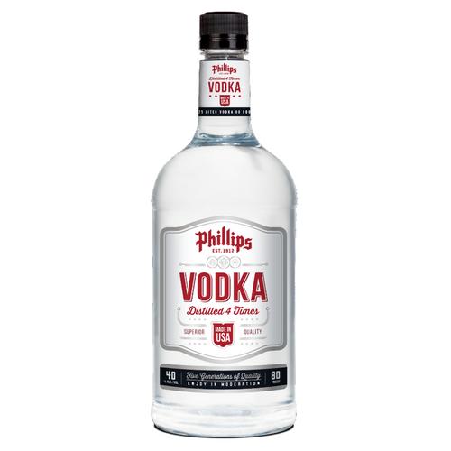 PHILLIPS VODKA PLASTIC 1.75L