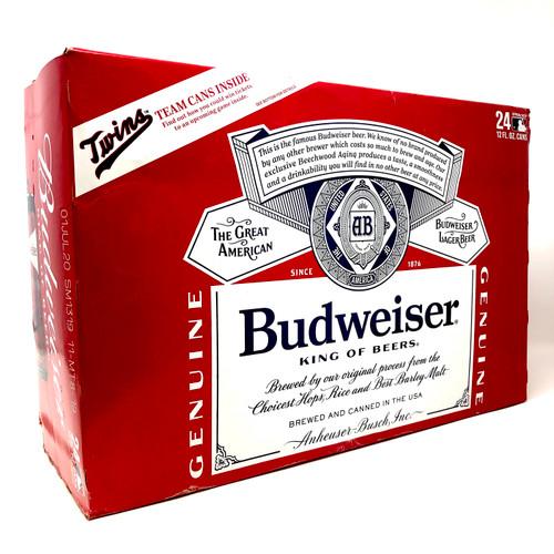 BUDWEISER 24pk 12oz. Cans