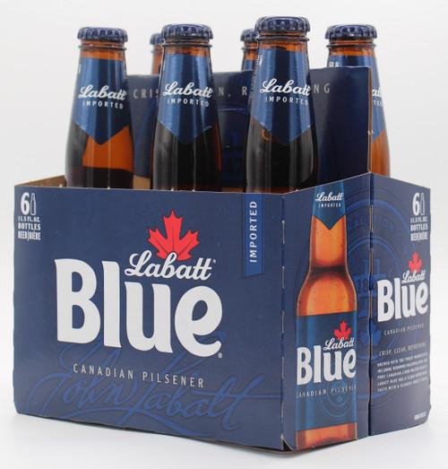 LABATT BLUE 6pk 12oz. Bottles