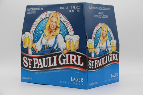 ST PAULI BLUE 12pk 12oz. Bottles