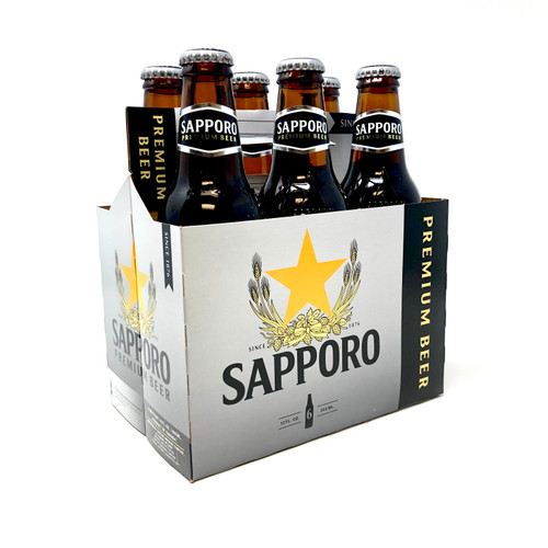 SAPPORO 6pk 12oz. Bottles