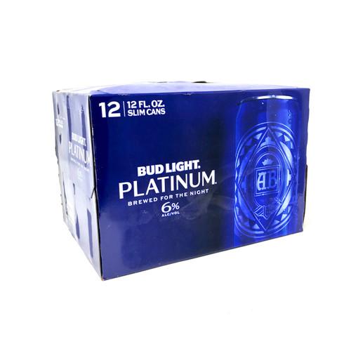 BUD LIGHT PLATINUM 12pk 12oz. Cans