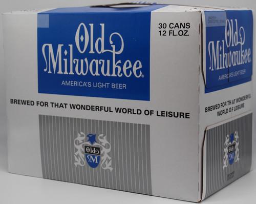 OLD MILWAUKEE LIGHT 30pk 12oz. Cans