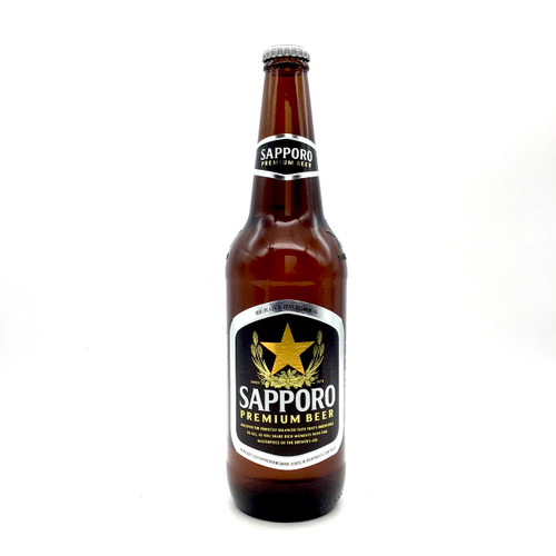 SAPPORO PREMIUM 22oz. Bottle