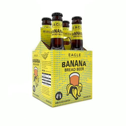 WELLS BANANA BREAD BEER 4pk 12oz. Bottles
