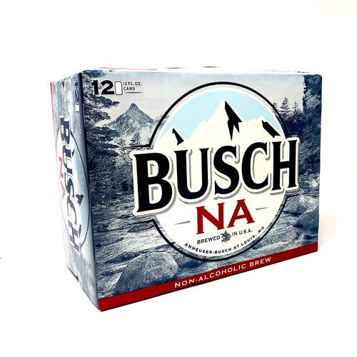 BUSCH NO-ALCOHOL 12pk 12oz. Cans
