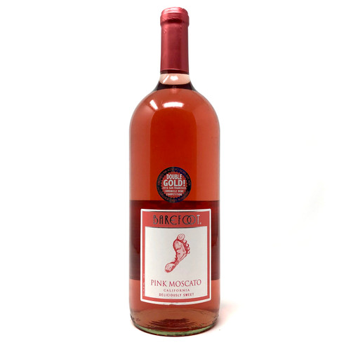 BAREFOOT PINK MOSCATO 1.5L