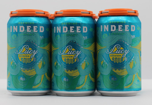 INDEED LUCY SESSION SOUR 6pk 12oz. Cans