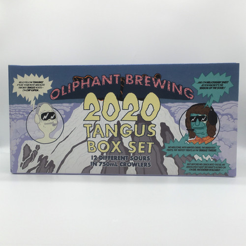 OLIPHANT TANGUS CASE 12 DIFFERENT SOURS IN 750 ML CROWLERS