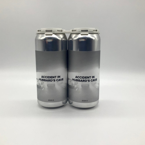 HUBBARD'S CAVE ACCIDENT IN HUBBARD'S CAVE IMPERIAL STOUT 2pk 16oz. Can