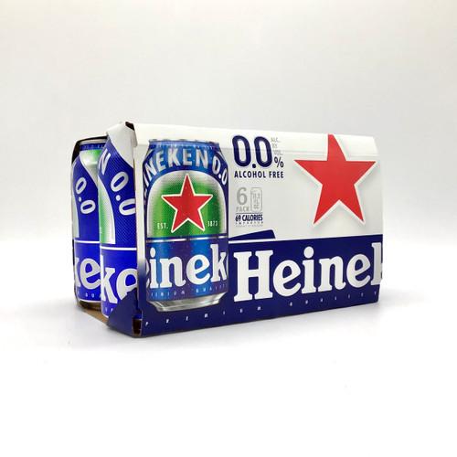 HEINEKEN NO ALCOHOL 6pk 12oz. Cans